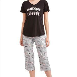 women pajamas 3X Today's Good Mood  sponsor COFFEE